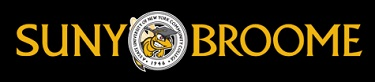 SUNY Broome Community College logo and website link